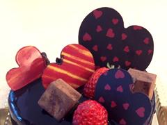 バレンタイン限定ケーキ2014