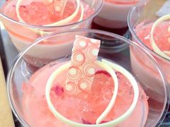 桜の爽やかケーキ