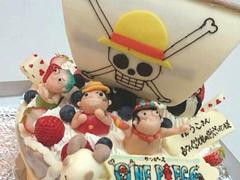 ONE PIECEケーキ