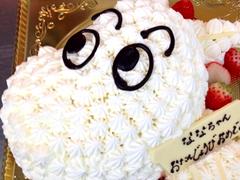 ムーミンのデコレーションケーキ