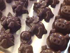 小さなチョコレート