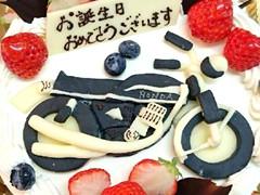 デコレーションケーキ作れます