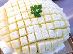 ダブルカスタードクリームケーキ