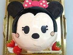 丸いデコレーションケーキ