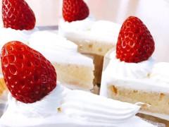 エイプリルフール企画のショートケーキ