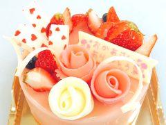 母の日デコーレーションケーキ2016