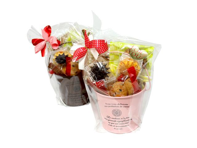 ブリキポッド(焼き菓子9個入り)