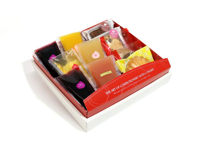 焼き菓子&ゼリーセット(焼き菓子5個、ゼリー6個)